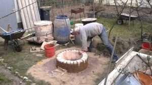Тандыр из кирпича своими руками: Чертежи и фото пошаговая инструкция