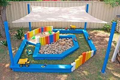 Детская площадка своими руками: фото и идеи