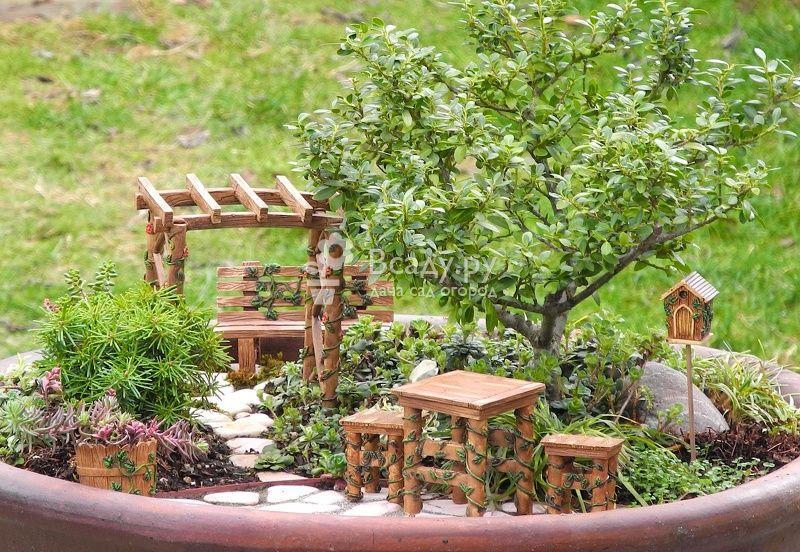 Украшение сада своими руками: советы и необычные идеи