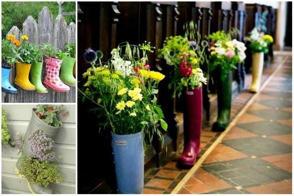 Лучшие поделки для сада своими руками из подручных материалов
