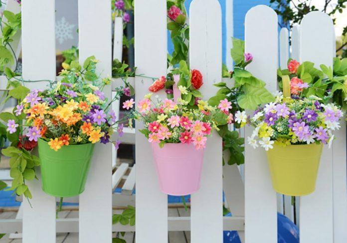 Контейнеры для цветов в ландшафтном дизайне
