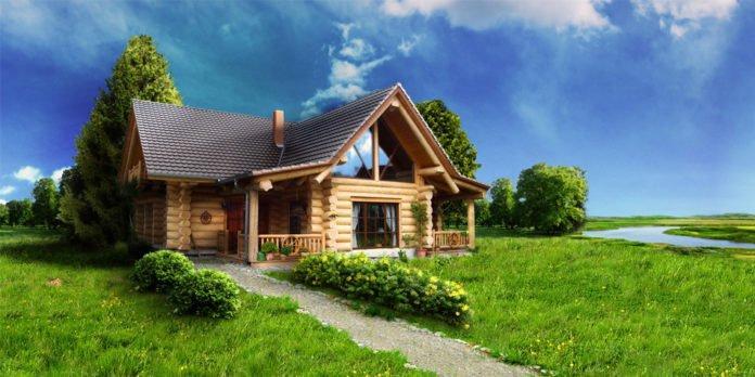 Уход за деревянным домом: правила и средства по уходу