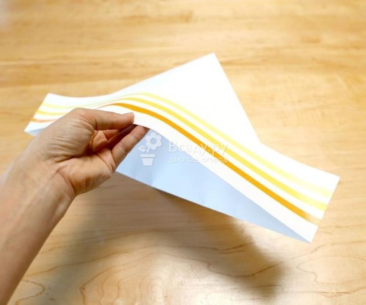 Панама из бумаги своими руками за 5 минут