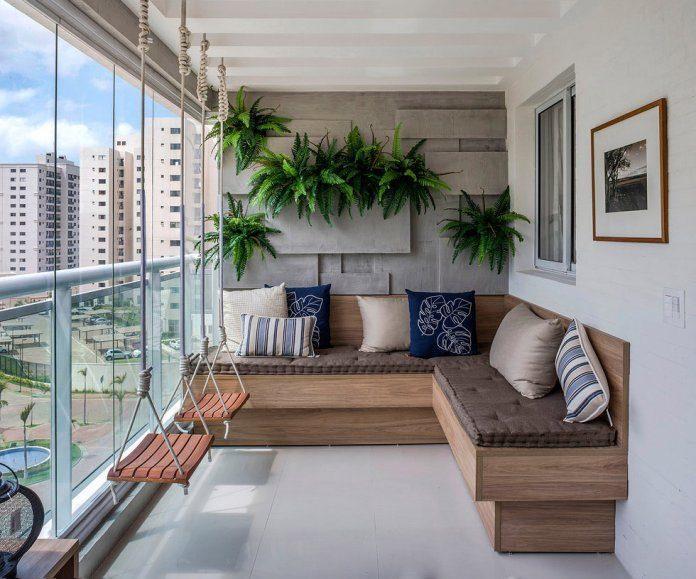 Идеи для балкона своими руками - 60 фото