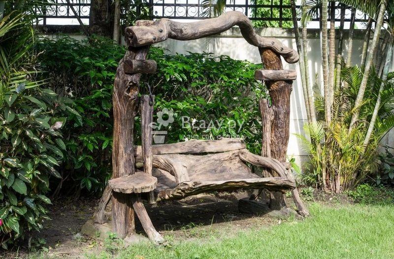 Мебель для сада своими руками - фото идей и уникальных работ