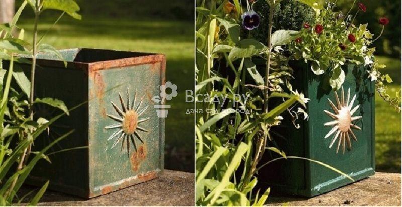 Удаляем ржавчину на садовой мебели из металла в два счета