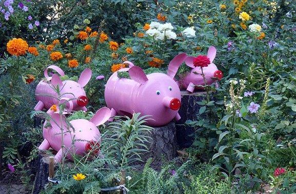 Красивое оформление огорода своими руками (фото)