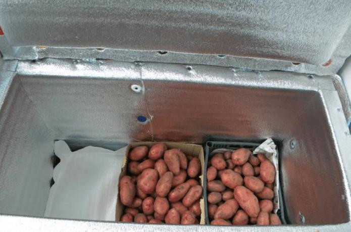 Ящик для зимнего хранения овощей на балконе своими руками: пошаговая инструкция