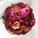 Воплощение нежности: букет невесты из пионовидных роз