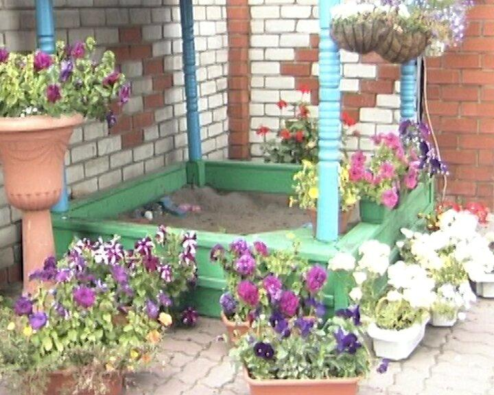 В саду красиво, как в раю…