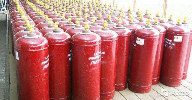 Заправка и продажа газовых баллонов