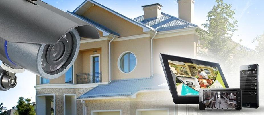 Установка систем видеонаблюдения в квартирах и домах