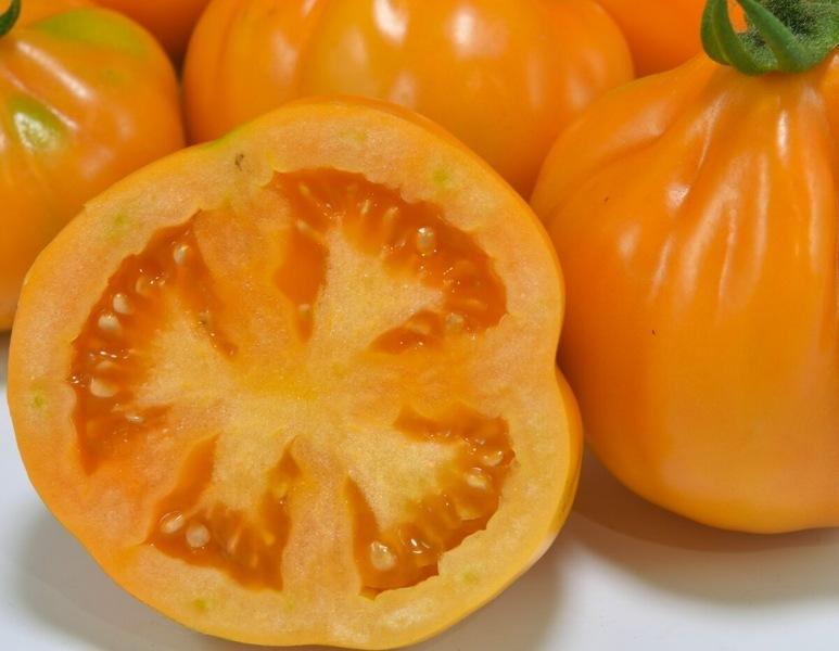 Это же ЧУДО ЧУДНОЕ 🍅🍅🍅 Яркий сорт томата необычной формы!