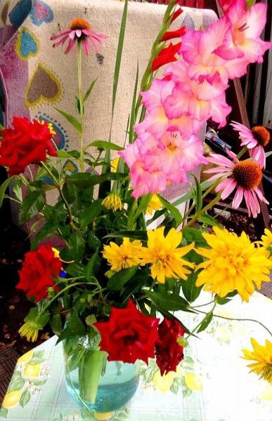 Если бы я торговала цветами