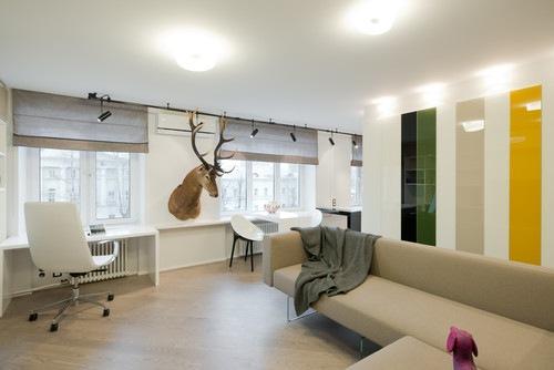 10 небольших квартир с яркими дизайнерскими идеями