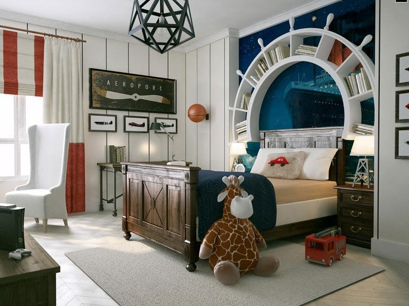 50 креативных идей использования стеллажей в интерьере разных комнат