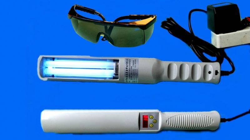 Что собой представляет ультрафиолетовая лампа для домашнего использования