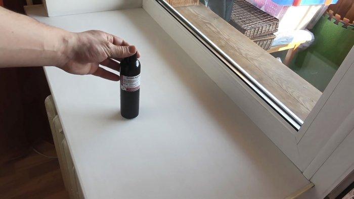 Недорогой способ отбелить пожелтевший пластиковый подоконник