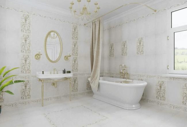 Итальянская плитка для ванной