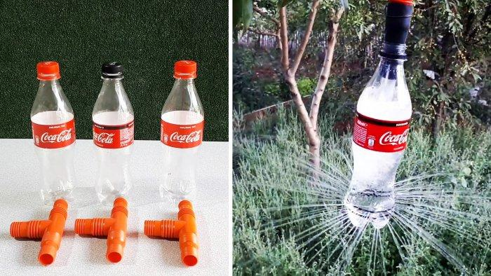 Копеечная система полива из ПЭТ бутылок своими руками
