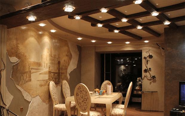 Лучшие идеи необычного дизайна потолка в частном доме и квартире