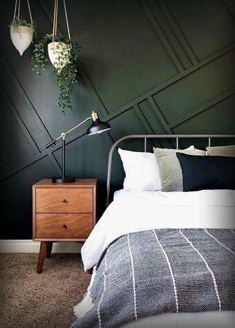 Почему не получилось? 6 ошибок, которые совершаются чаще всего при покраске стен, потолка в спальне