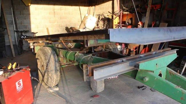 Прицеп-самосвал для трактора своими руками