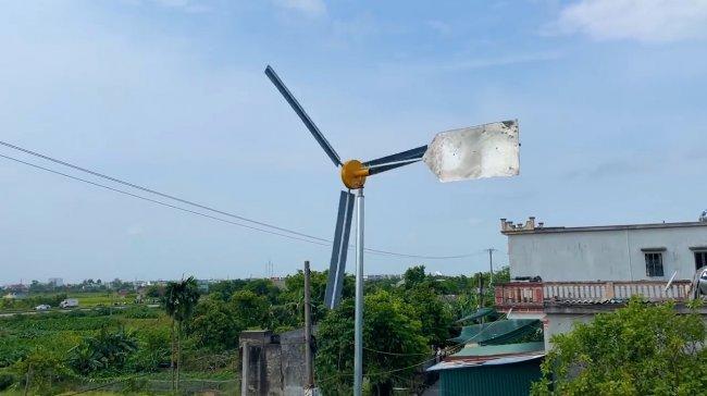 Собираем простой ветрогенератор