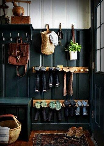 Звучит как «ерунда», но без этого как без рук! 6 примеров самодельных шкафчиков для обуви, которые добавят стиля и функциональности вашей прихожей