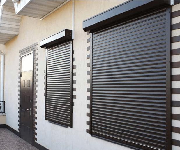 Жалюзийные двери: где и как применить