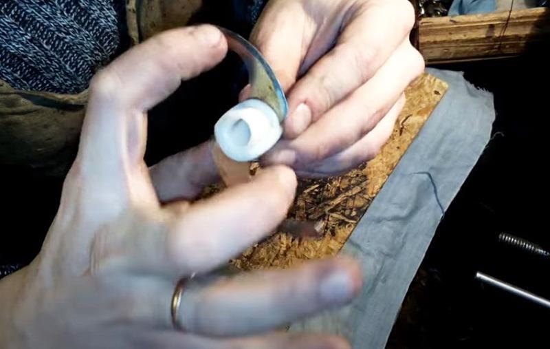 Простая заточка ножа блендера